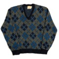 60s COLUMBIA MOHAIR KNIT SWEATER.