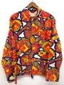 60s SIR JAC FLOWER PRINT COTTON JACKET.
