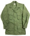"60s U.S.ARMY ""3rd."" JUNGLE FATIGUE JACKET."