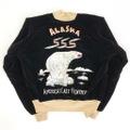 50s~ ALASKA SOUVENIR JACKET.