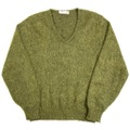 ~60s JOHN FRANKS MOHAIR KNIT SWEATER.