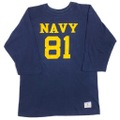 "80s CHAMPION ""U.S.NAVY"" FOOTBALL Tee."