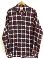 60s TOWNCRAFT PRINTNEL SHIRT.