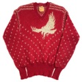 "50s JANTZEN ""EAGLE"" JACQUARD KNIT SWEATER."