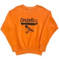 60s ORIOLES PRINT SWEAT SHIRT.