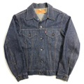 70s~ Levi's NON WASH 70505e DENIM JACKET.