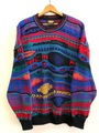 90s H.D.×COOGI OFFICIAL KNIT SWEATER.
