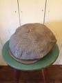 40s COTTON NEWSBOY HAT