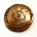 ④ ~40s NAVAJO DEAD STOCK COPPER CONCHO.