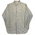 20s~ GO-PFOR COTTON WORK SHIRT with CHINSTRAP.