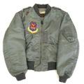 50s U.S.AIR FORCE L-2B FLIGHT JACKET.