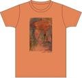 単独公園Tシャツ (オレンジ)