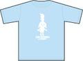 Tシャツ INU ROSOKU(犬ローソク)ブルー