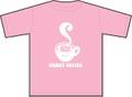 Tシャツ Coffee(コーヒー)ピンク