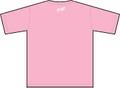 Tシャツ INU ROSOKU(犬ローソク)ピンク