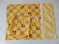 34×45春色♪いちご&お花の給食セット