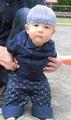 赤ちゃんの浴衣帽