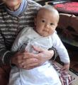 晒で作る赤ちゃんの肌着