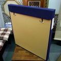 紺布タトウ箱(黄袋付) 58×51×4cm