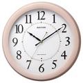 リズム時計 フィットウェーブリッツ電波掛時計8MYA24SR13