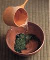 薄茶・碧の白  30g缶    No.0177