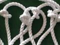 災害緊急時に!      避難ロープ4.5m          2階からの避難に        (大径フック付タイプ)