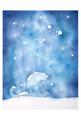 ポストカード「雪降る夜に。」