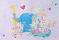 ポストカード「世界は愛であふれてる。」
