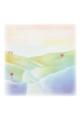 ポストカード「虹色の丘」