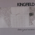 Kingfield / Letters Post Mortem  CD