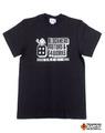 【t4works】『BLOCKHEAD MOTORS & t4works』Tシャツ ビンテージブラック Mサイズ