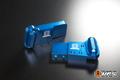 【t4works】ビレットハンガー(8mmロング) ホーネット用 ブルー