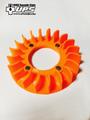 ジャイロ系 クーリング 軽量ファン キャノピー X UP オレンジ色
