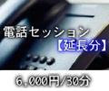 [延長分]電話セッション