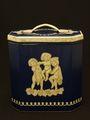 【在庫処分セール品】ウェッジウッドデザインのビスケット・バーレル缶