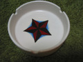 TATTOO MOTIF ASHTRAY-STAR