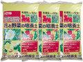 花と野菜の培養土12L 3袋セット