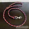 パラコード手編みリード#509 小型犬〜超大型犬向き 5 colors