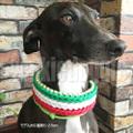 パラコードで編む犬の首輪 中〜超大型犬向き ハーフチョークスリップ