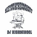 DJ HIGH SCHOOL see you at the cook out MIX CD-R