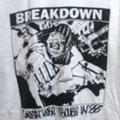 BREAKDOWN causin' trouble TRIM T-SHIRTS