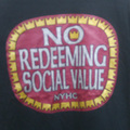 NO REDEEMING SOCIAL VALUE old-e T-shirts