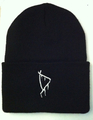 DARKSIDE NYC just D KNIT CAP