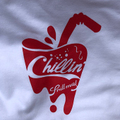 PRILLMAL coolin'!!! T-SHIRTS WHITE RED