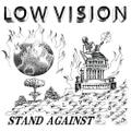 LOW VISION stand against CD