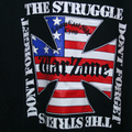 WARZONE don't forget the struggle T-SHIRTS BLACK