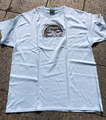 PRIOLL+MAL CHILL MOUNT !!! T-SHIRTS LIGHT BLUE