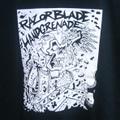 RAZORBLADE HANDGRENADE brick city T-shirts