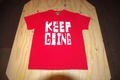 """""""KEEP GOING VOUL"""" t/s RED"""