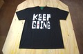 """""""KEEP GOING VOUL"""" t/s black"""